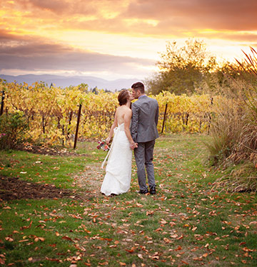 Oregon vineyard wedding at Keeler Estate Vineyard
