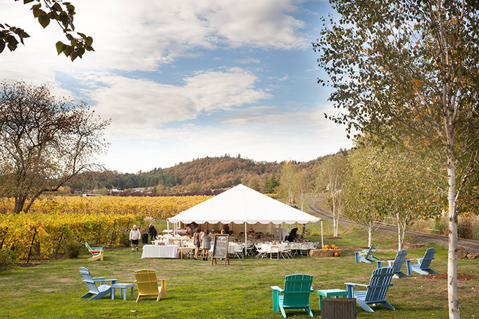 Oregon winery wedding at Keeler Estate Vineyard