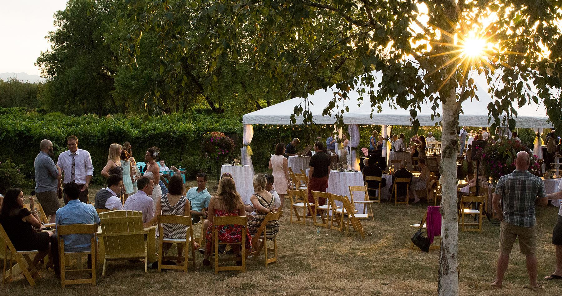 Oregon vineyard winery wedding Keeler Estate Amity