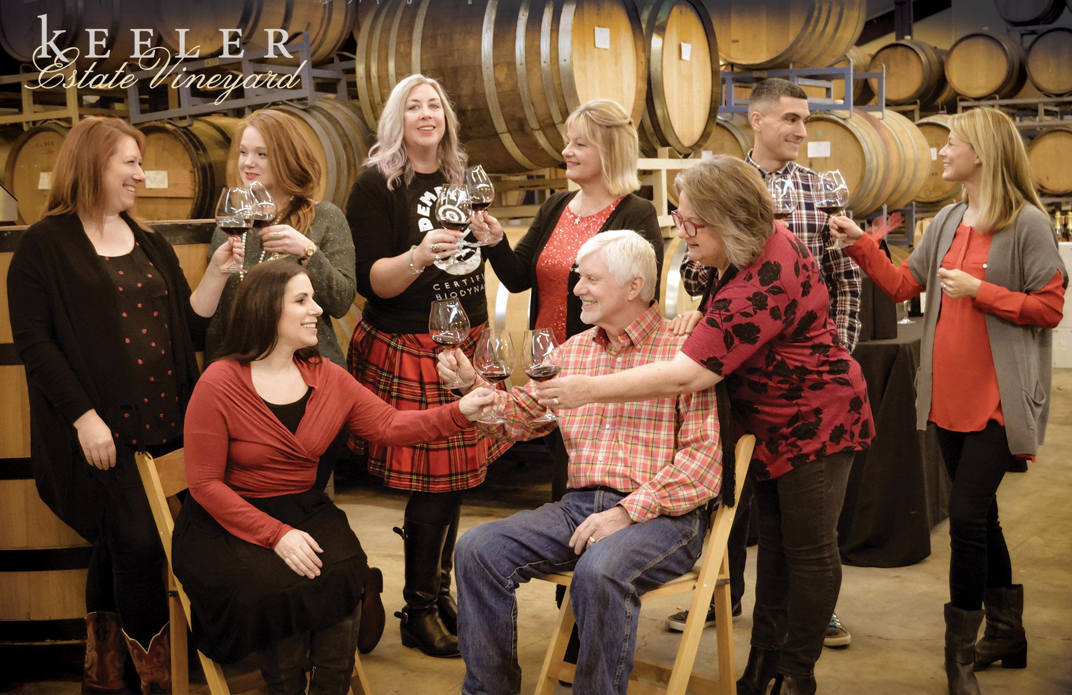 Keeler Estate Vineyard Team